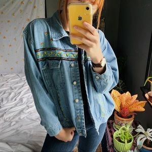 Vintage Northwest Blue 100% Cotton Jean Jacket